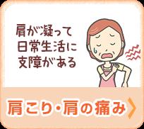 肩こり・首の痛み(肩が凝って日常に支障がある)